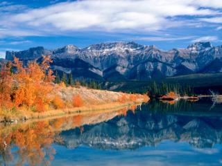 обои Talbot Lake, Jasper National Park, Alberta, Canada фото