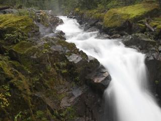 обои Водопад в Национальном парке Тенесси фото