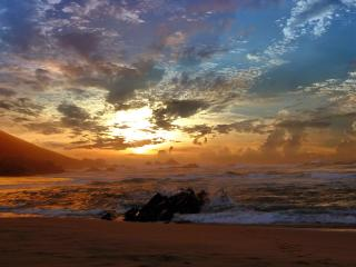 обои Море бушует фото
