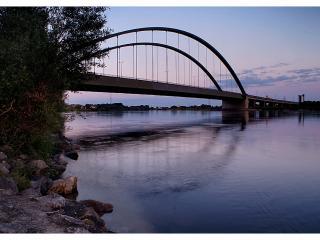 обои Мост через реку фото