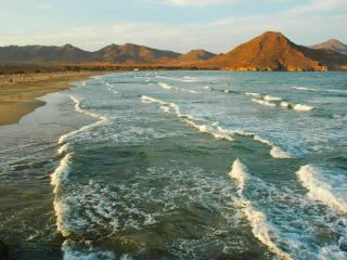 обои Genoveses Beach Cabo de Gata Natural Park фото