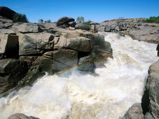 обои Orange River Augrabies Falls National Park South фото