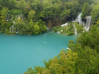 обои Plitvice Lakes National Park Croatia фото