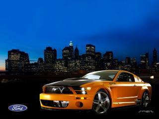 обои Ford mustang art фото
