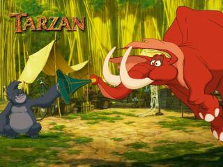 обои Тарзан фото
