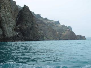 обои Скалы и вода фото
