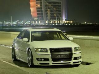 обои JE Design Audi A8 Night Dubai фото