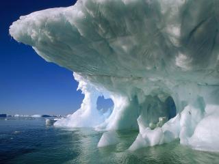 обои Пещера во льду фото