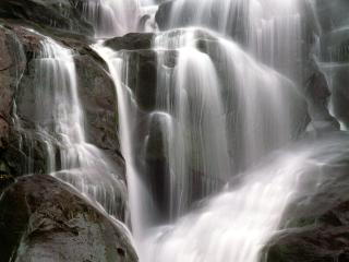 обои Ramsey Cascade, Great Smoky Mountains , Tennessee фото