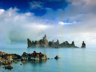 обои Mystic Mono Lake,  California фото
