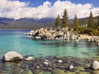 обои Sand Harbor State Park, Lake Tahoe, Nevada фото