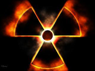 обои Знак радиации фото