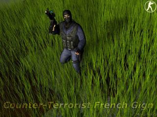 обои Counter-straik боец с оружием фото