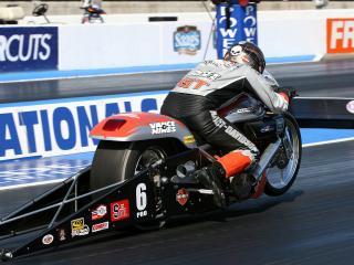 обои Harley Davidson - драговый мотоцикл фото