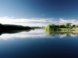 обои Красивые берега реки фото