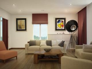 обои Мебелированная гостиная фото