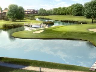 обои Усадьба и поля для гольфа фото