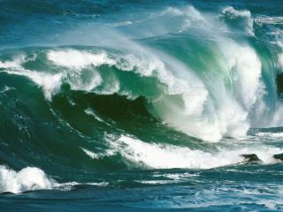 обои Волны в Новой Зеландии фото