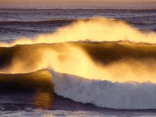 обои Волны, одна за другой фото