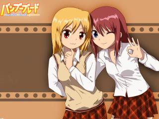 обои Bamboo Blade - девочки фото