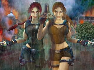 обои Tomb Raider: Underworld фото