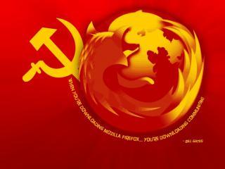 обои Firefox. communism фото