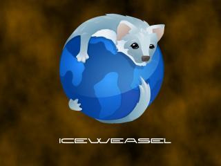 обои Firefox. iceweasel фото