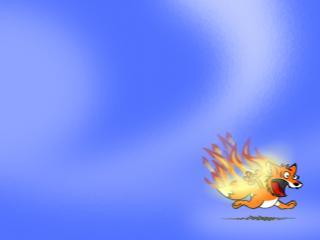 обои Firefox. юмор фото