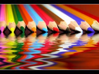 обои Разноцветные карандаши фото
