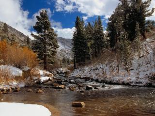 обои Bishop Creek, California фото