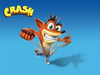 обои Crash Bandicoot фото