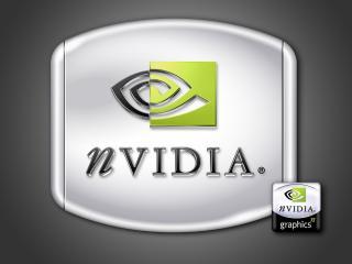 обои Nvidio logo фото