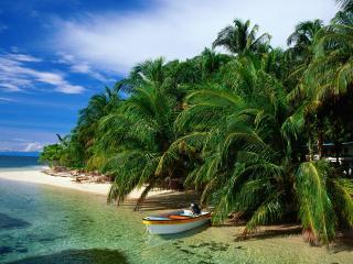обои Cays Zapatillas, Bocas del Toro, Panama фото