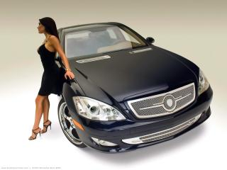 обои STRUT Mercedes Benz S550 фото