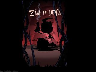 обои Zim Is Dead фото