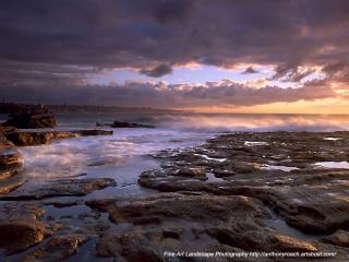 обои Вечер в заливе фото