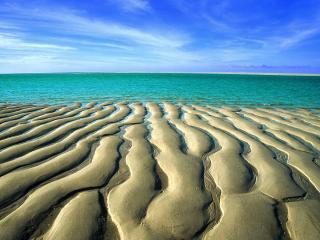 обои Песок в отливе, Австралия фото