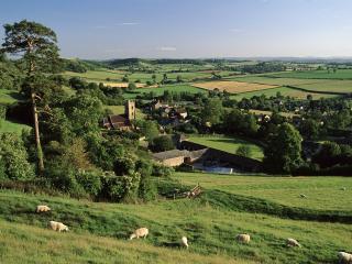 обои Деревня Хаса, Англия фото