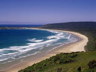 обои Tautuku Beach, South Island, New Zealand фото