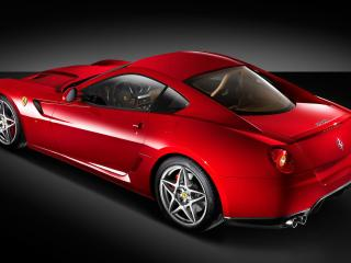 обои Sideview of 599 GTB фото