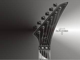 обои Головка гитары фото