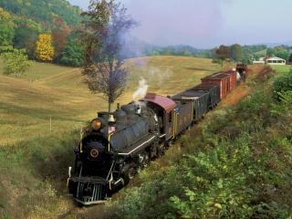 обои East Broad Top Railroad, Orbisonia, Pennsylvania фото