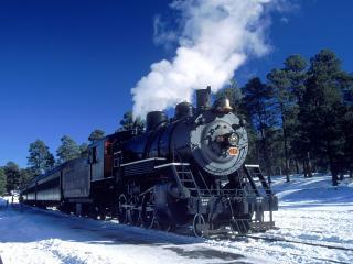 обои Engine 29, Grand Canyon Railway, Arizona фото