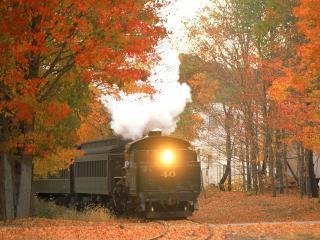 обои Essex Steam Train, Essex, Connecticut фото