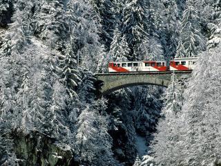 обои Winter Tour, Valais, Switzerland фото