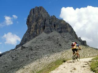 обои Adidas TransAlp Challenge, Forcella Ambrizzola, Italy фото