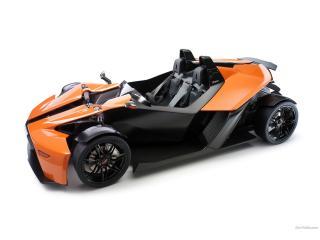 обои KTM X-Bow бочком фото
