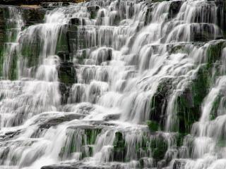 обои Водопад-ступени фото