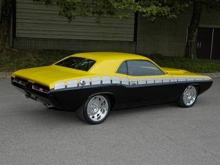 обои Желто-черный Mustang фото