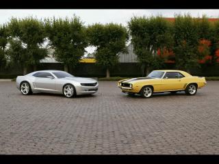 обои Mustang - старый и новый фото